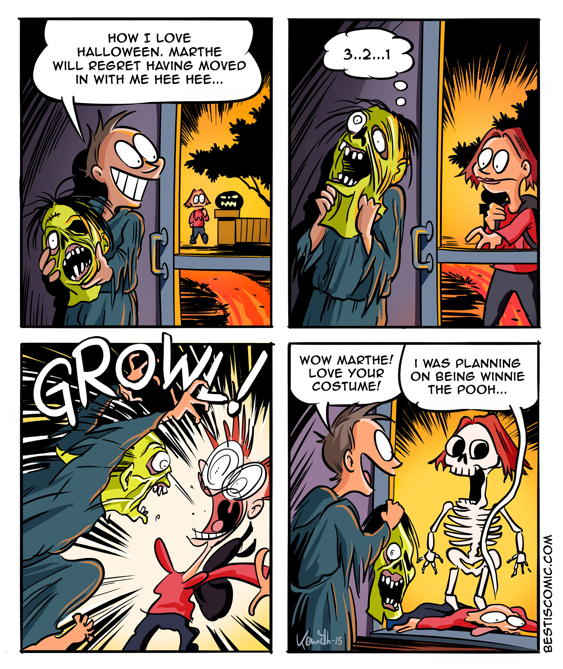 Halloween-comic-strip-kennethlarsen
