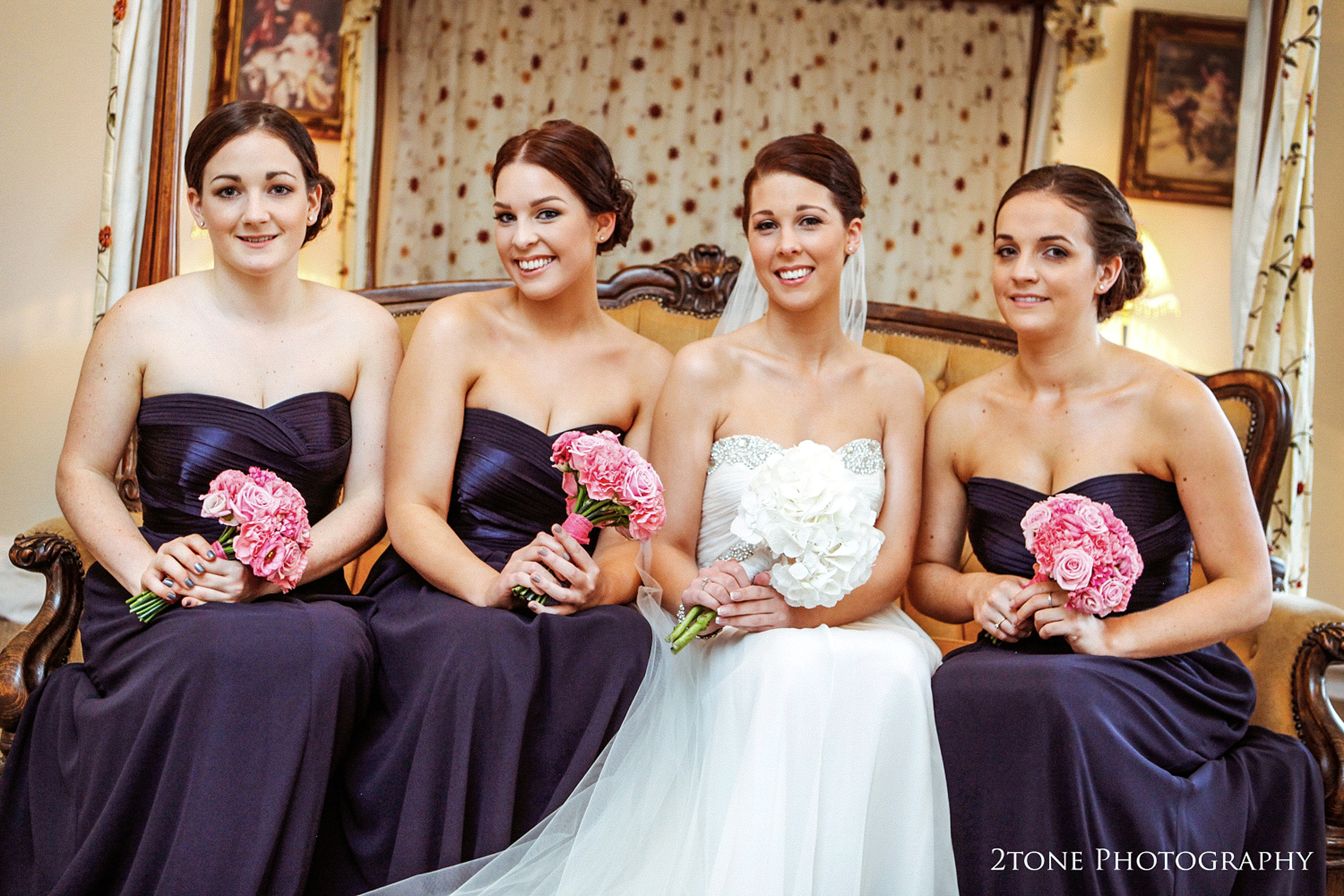 Beamish Hall bridesmaids