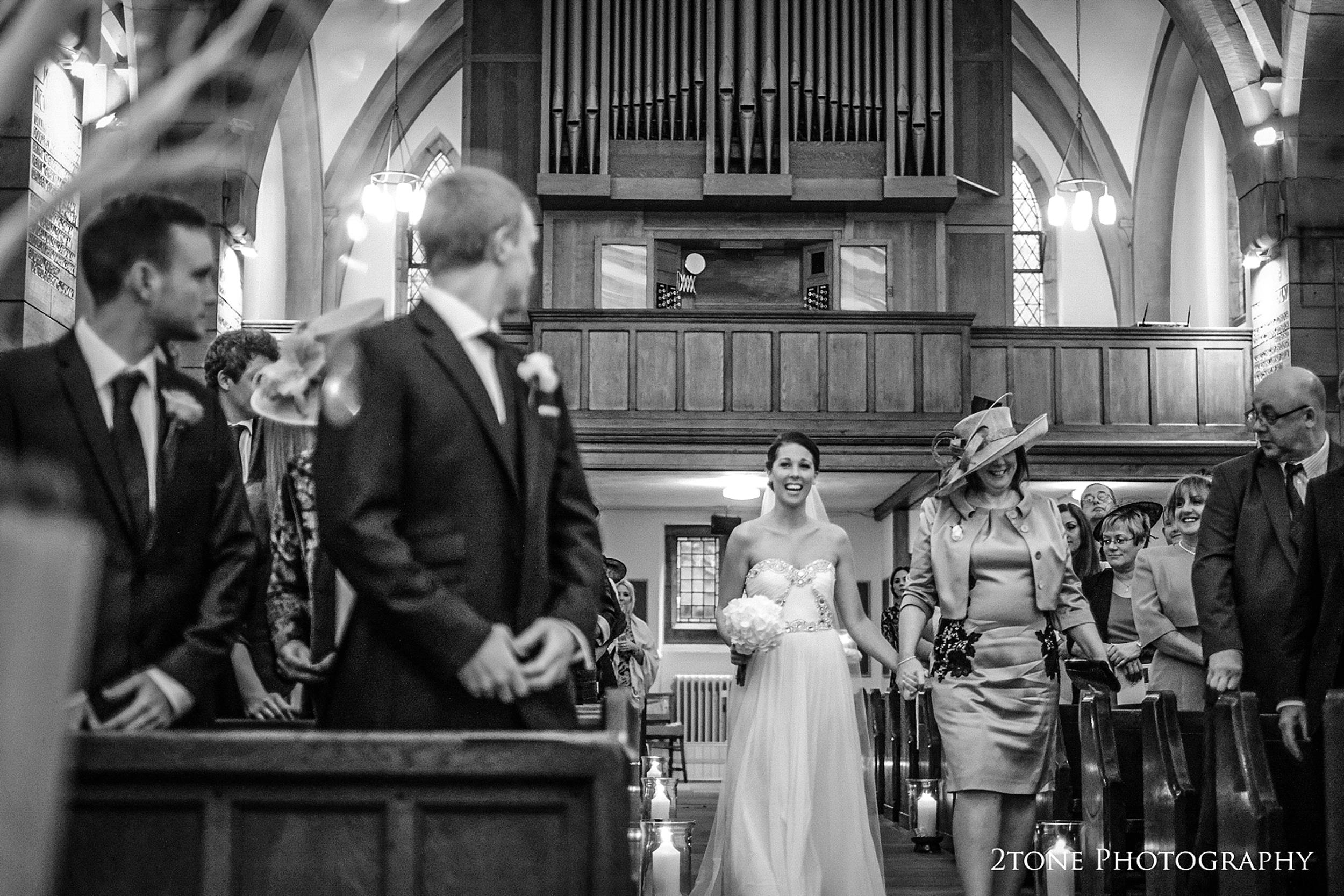 Durham school chapel wedding