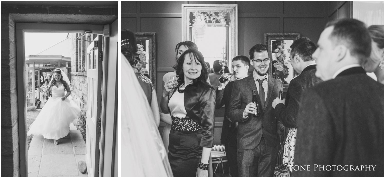 Newton Hall wedding