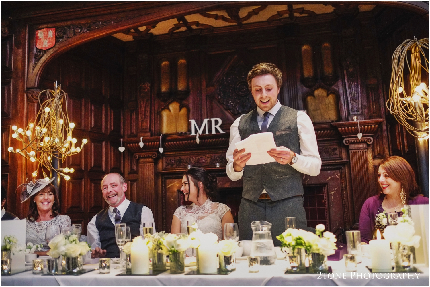 The Great Hall Speeches at Jesmond Dene House Hotel Newcastle