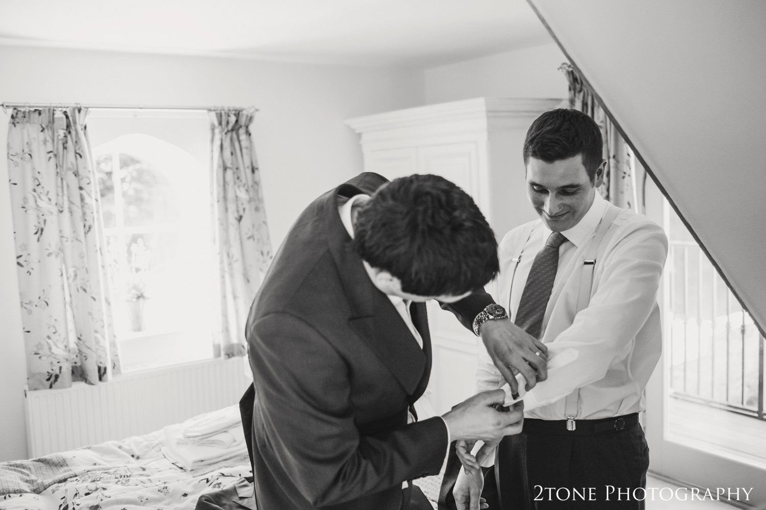 Groom's preparations at Middleton Hall