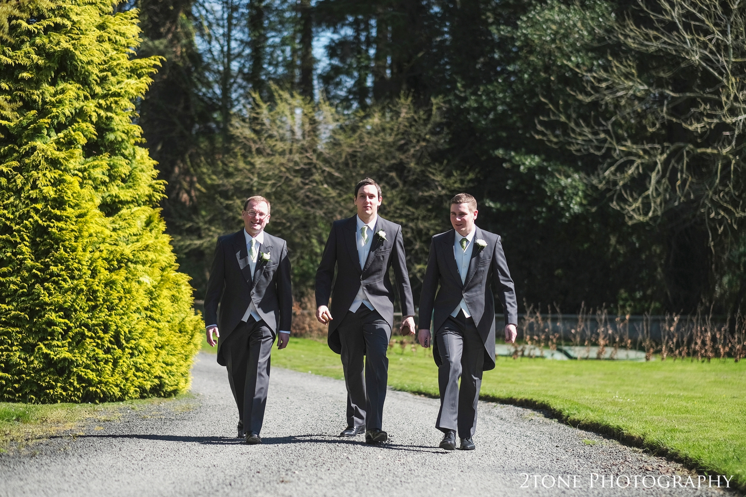 Groomsmen at Middleton Hall