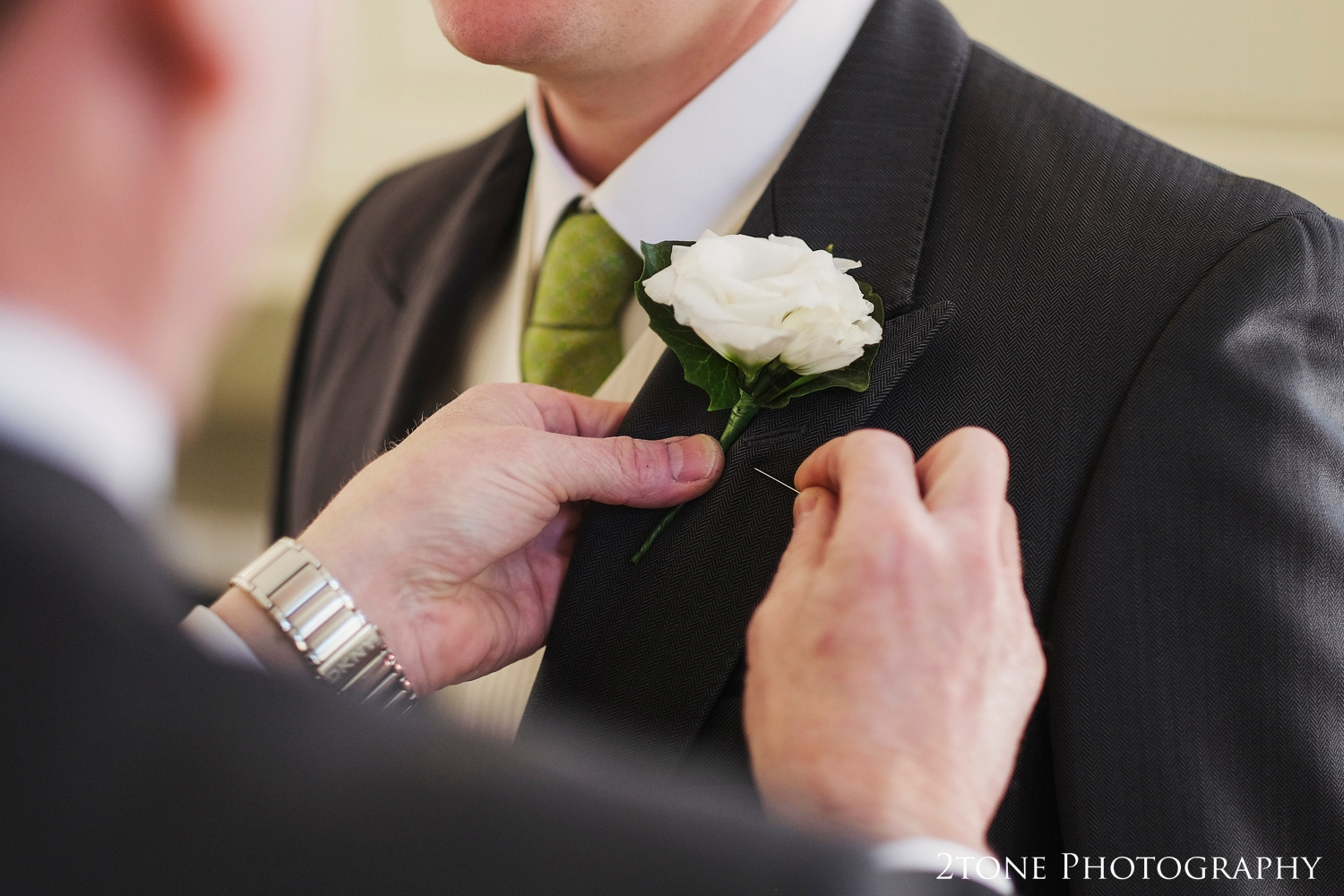 Buttonhole at Middleton Hall