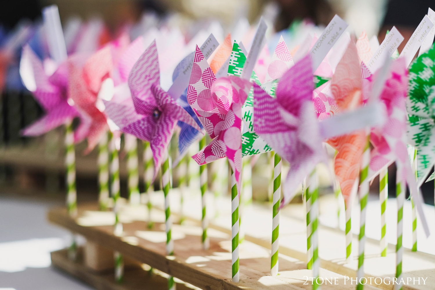 I loved the cute windmill favors