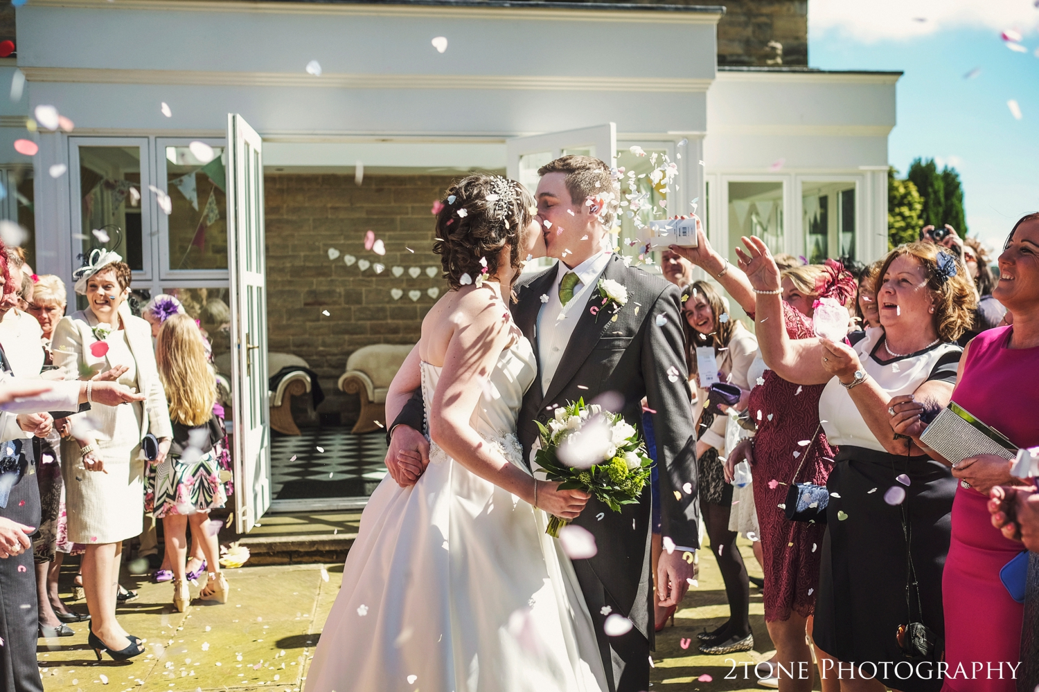 Middleton Hall wedding confetti
