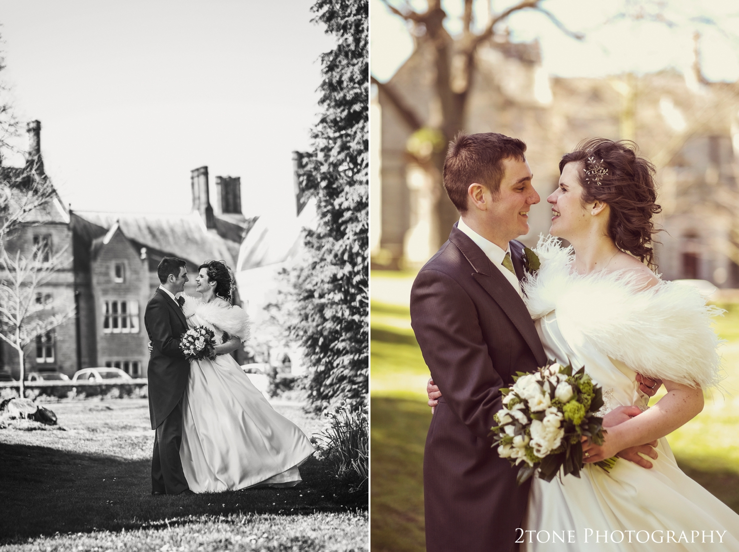 The springtime light was stunning for Emma and David's wedding day.