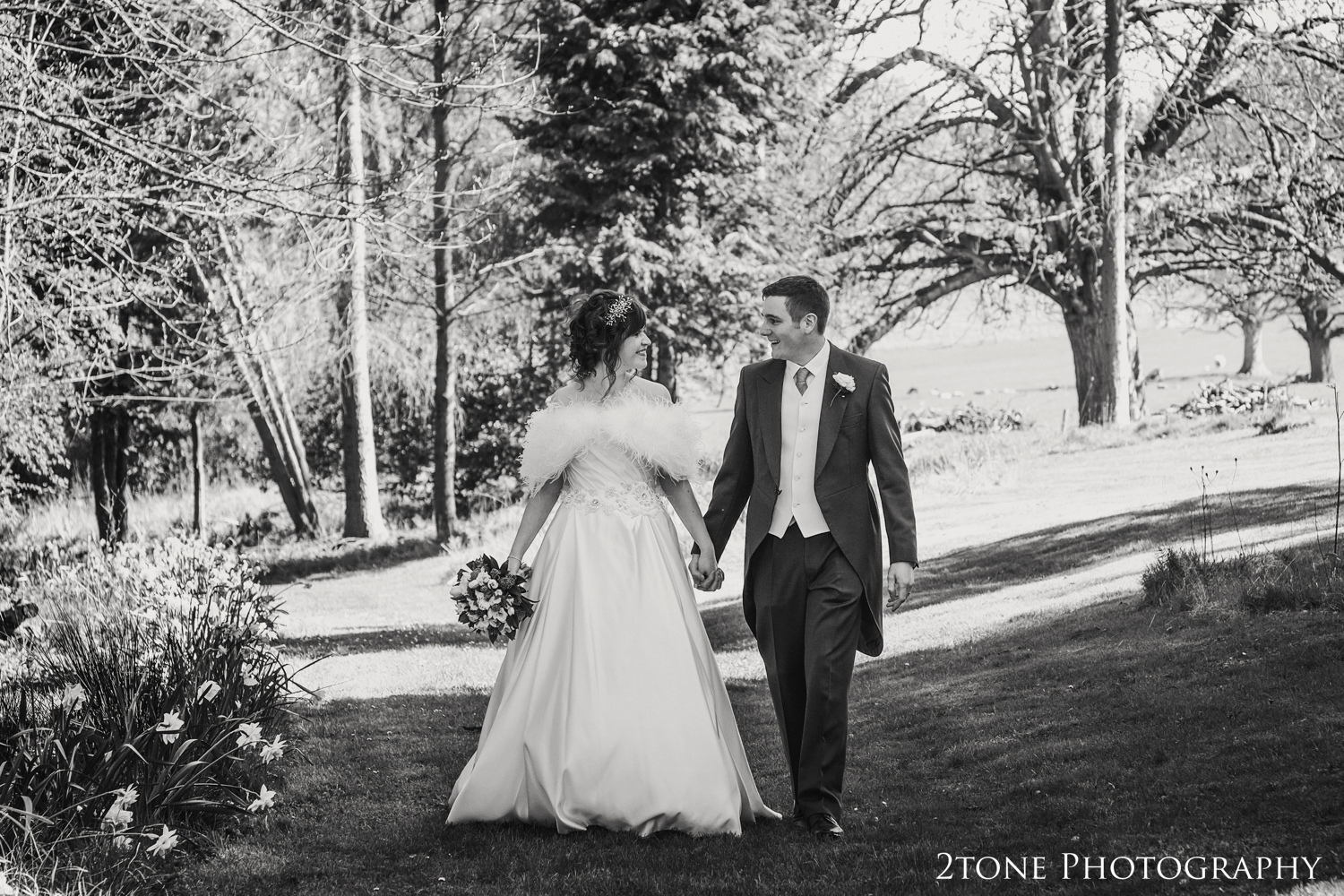 spring wedding at Middleton Hall