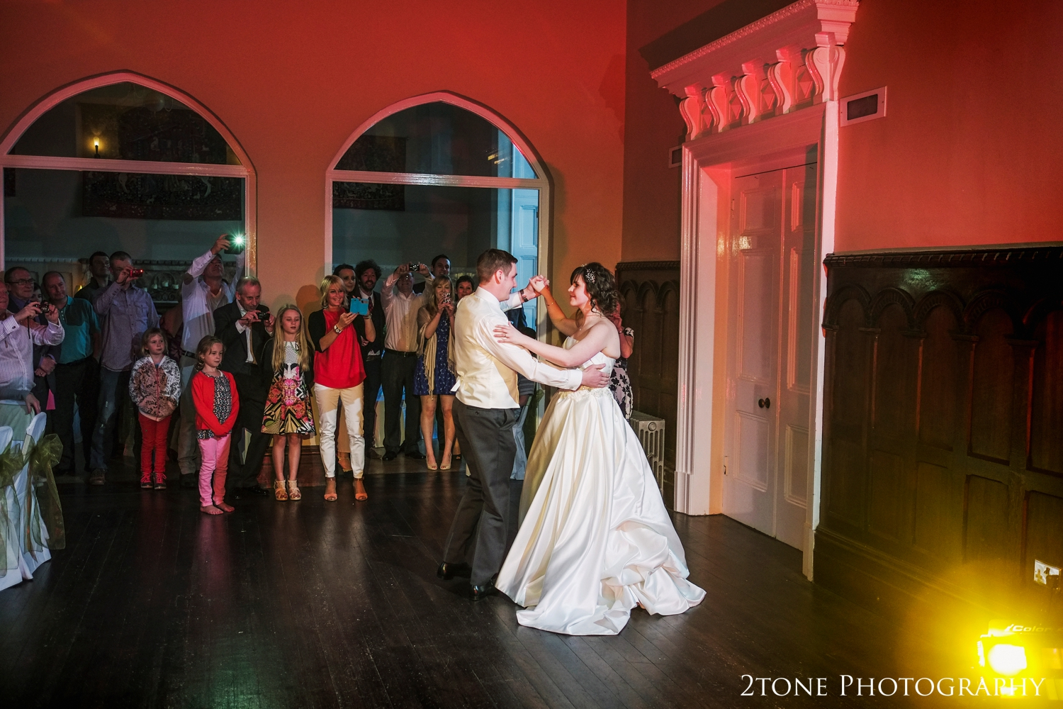 Emma and David wowed us all with their rehearsed first dance.
