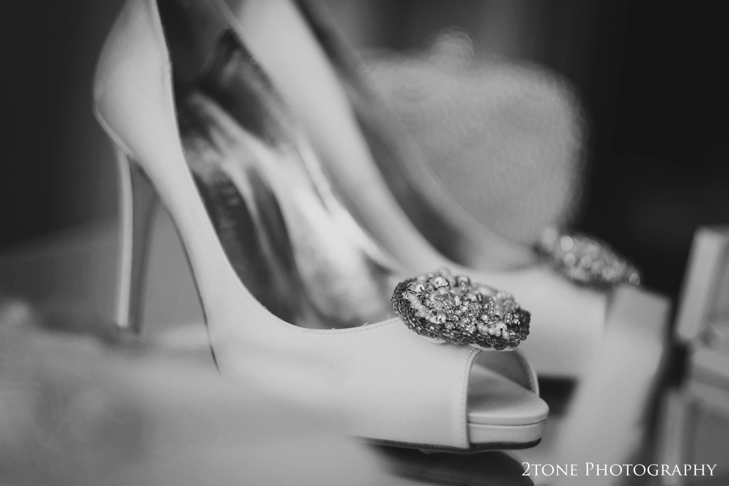 Danielle's gorgeous Freya Rose wedding shoes were classic and elegant.