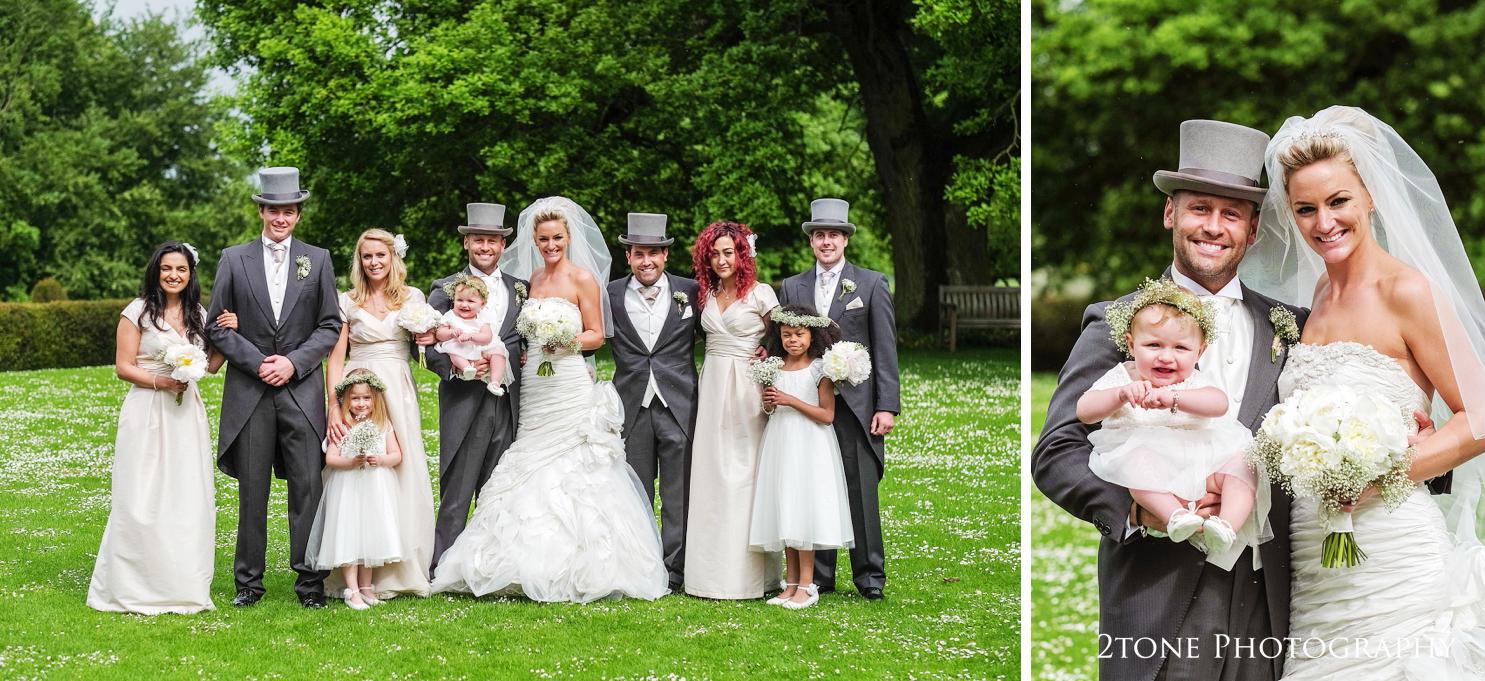 Wedding groups at Middleton Lodge.  Wedding photography by www.2tonephotography.co.uk