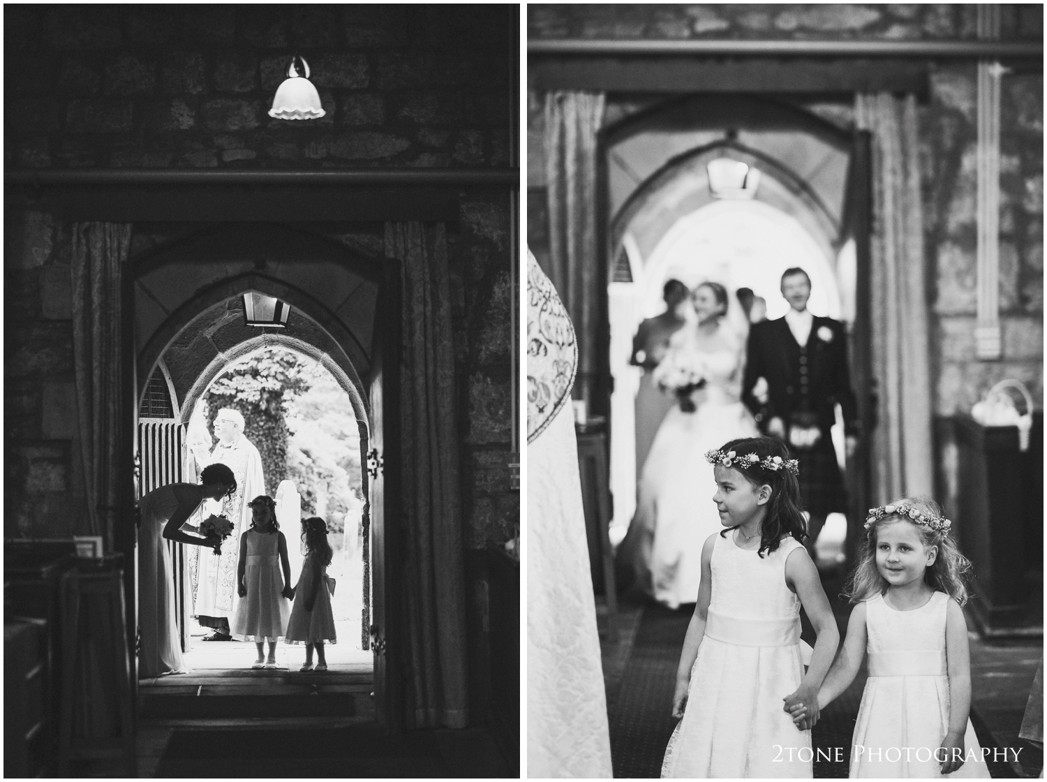 A quiet word of advice or encouragement from an adult bridesmaid to the younger ones, another of my favourite shots from this wedding.