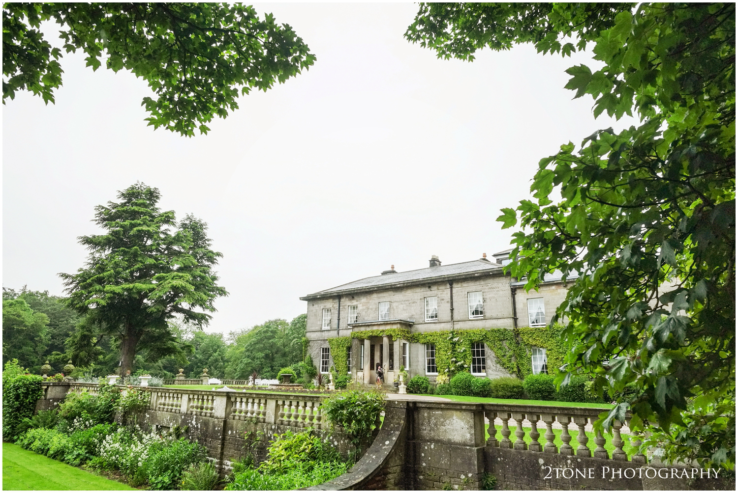 Doxford Hall on their early June wedding day, stunning and full of colour.