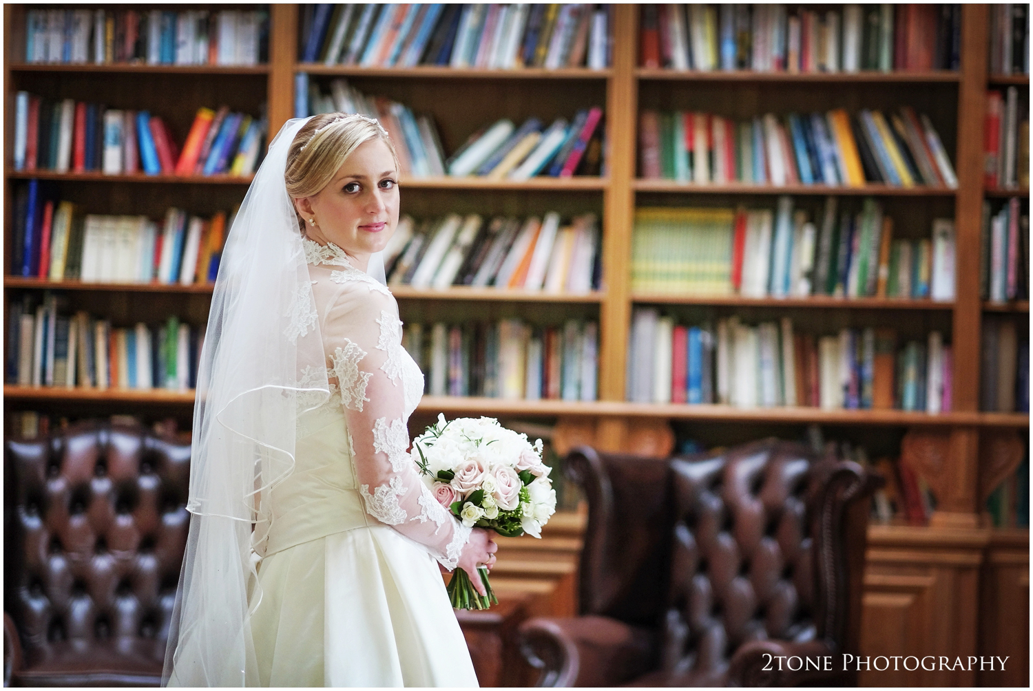The library in Doxford Hall is another great spot for photography. The light is excellent in here, fantastic for portraiture.