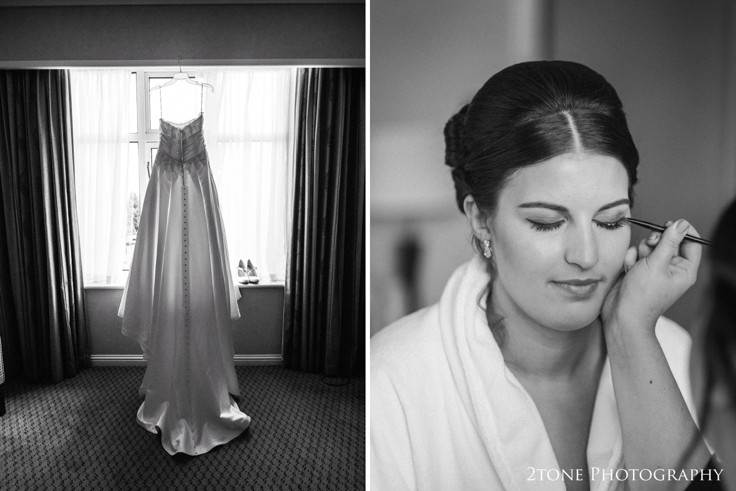 I met with Hannah and the girls in the bridal suite for a few shots of their preparationsand of course some creativedetail shots.