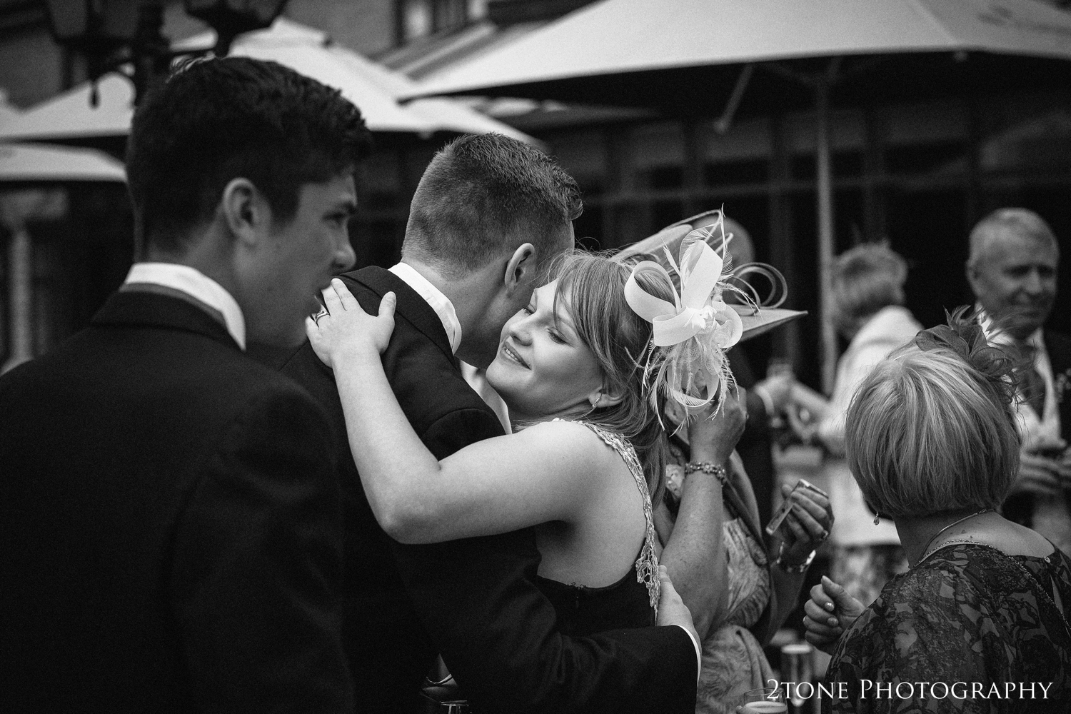 I always call these shots the meets and greets, but they are so much more than that, they are memories being made, words of love and congratulations from close friends and family, laughter and joy. For us, shots like this are an essential part of the day and are a privilege to photograph.