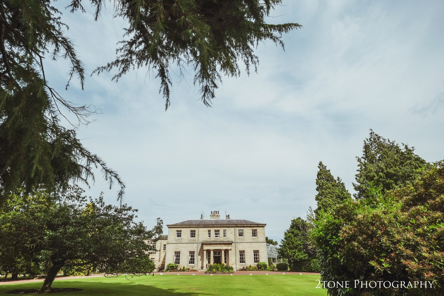 Linden Hall on Nicola and Andy's beautiful mid July wedding day.
