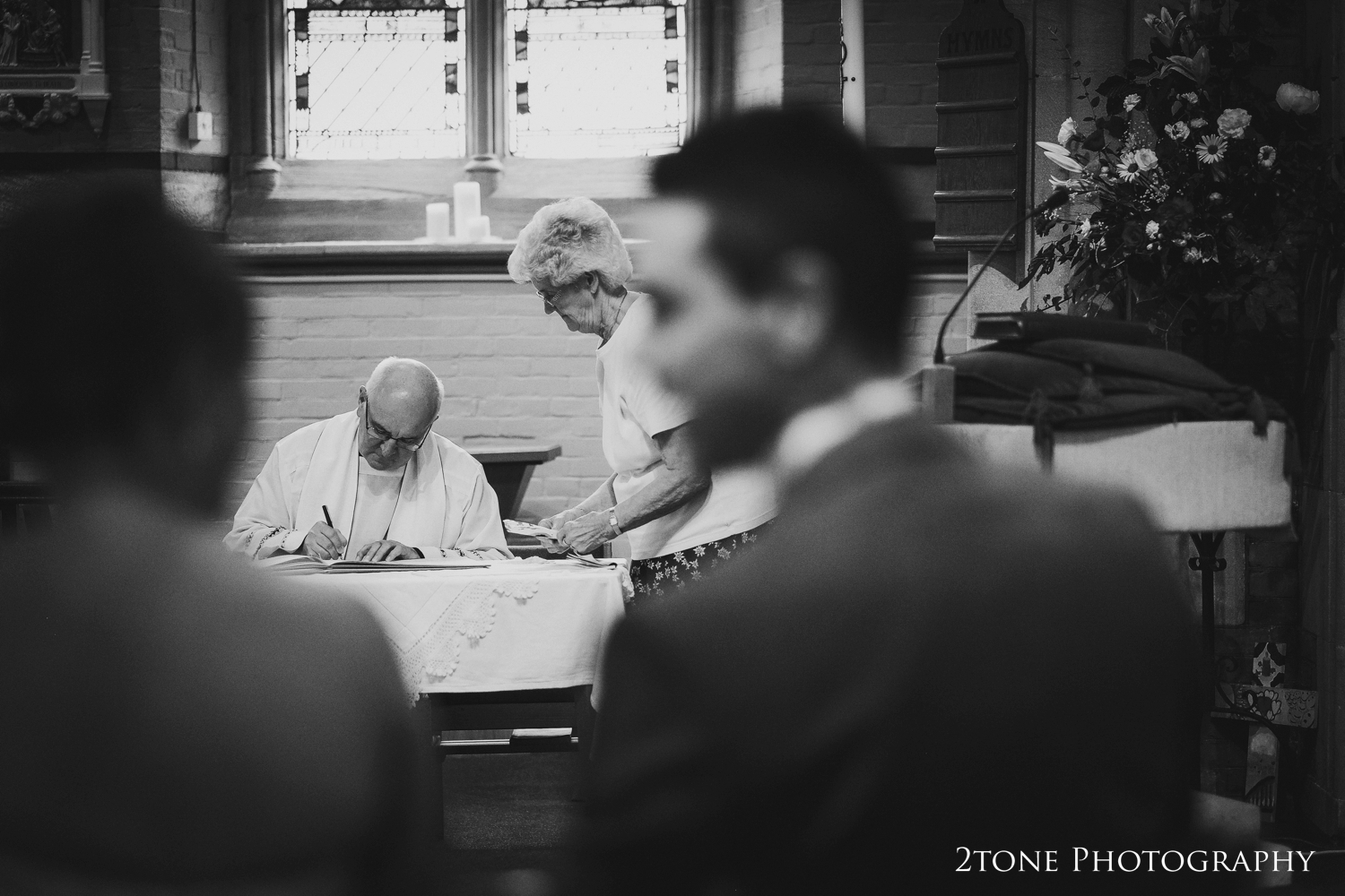 Sacred Heart Church, North Gosforth, Wedding Photography by Durham and Newcastle wedding photographers www.2tonephotography.co.uk