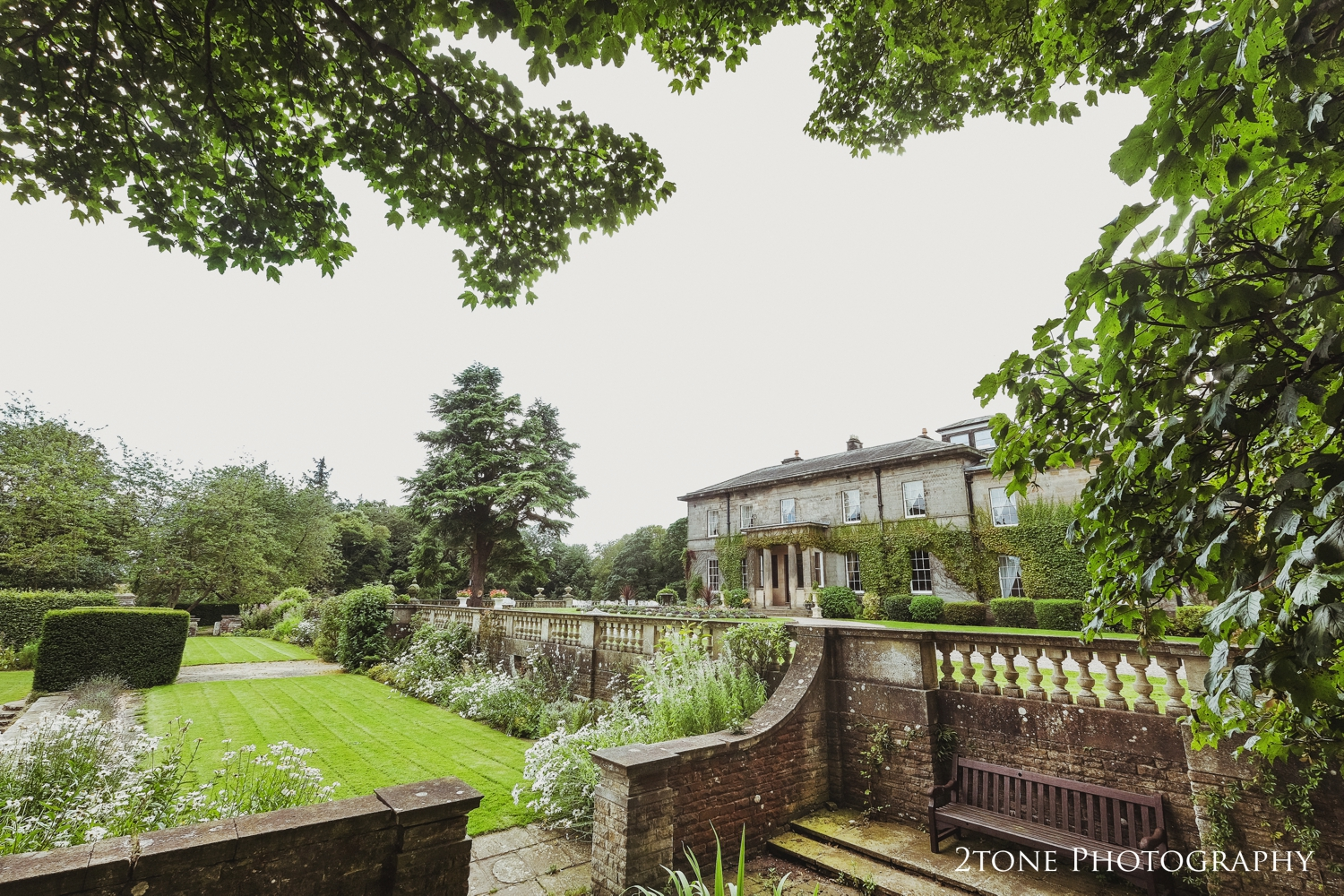 Setting the scene once again, Doxford Hall looking stunning in the summer time.
