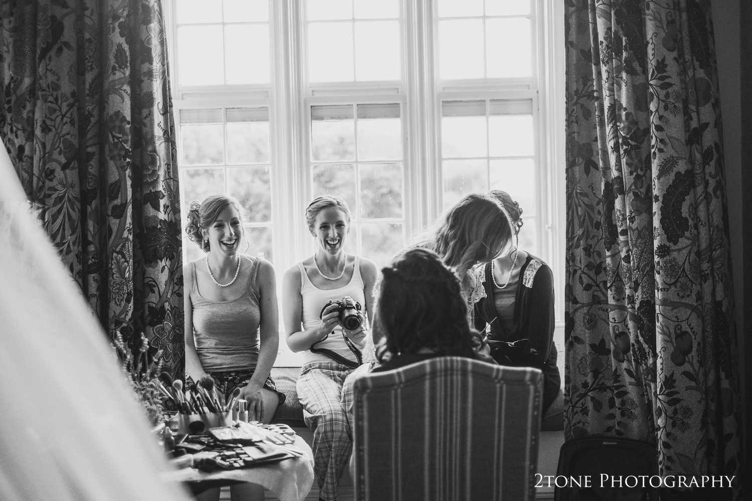 It was wonderful to work with ourold friend Julie Pattinson once again, using her makeup skills to ensure that all of the girls were looking perfect for the day.