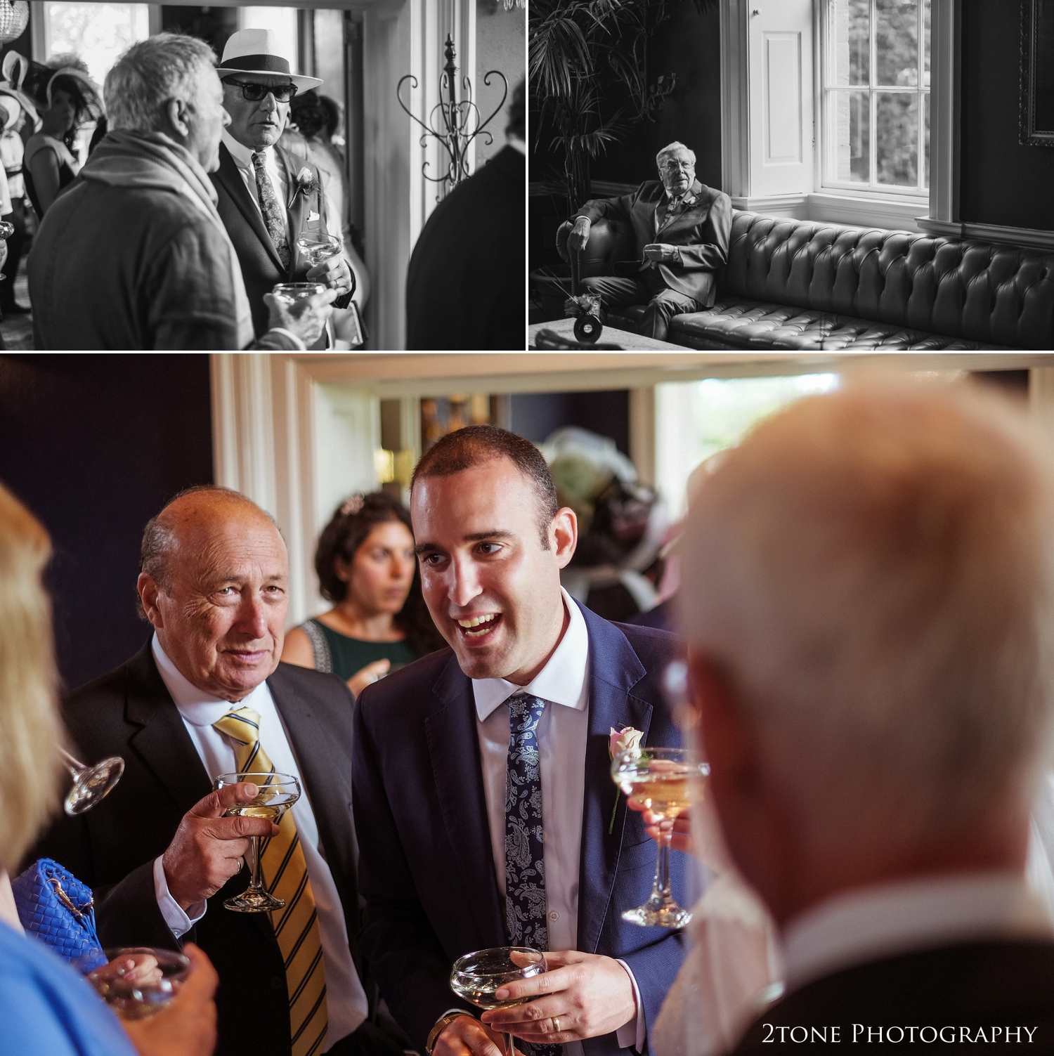 Newton Hall Wedding Photography by Durham Photographer 2tone Photography