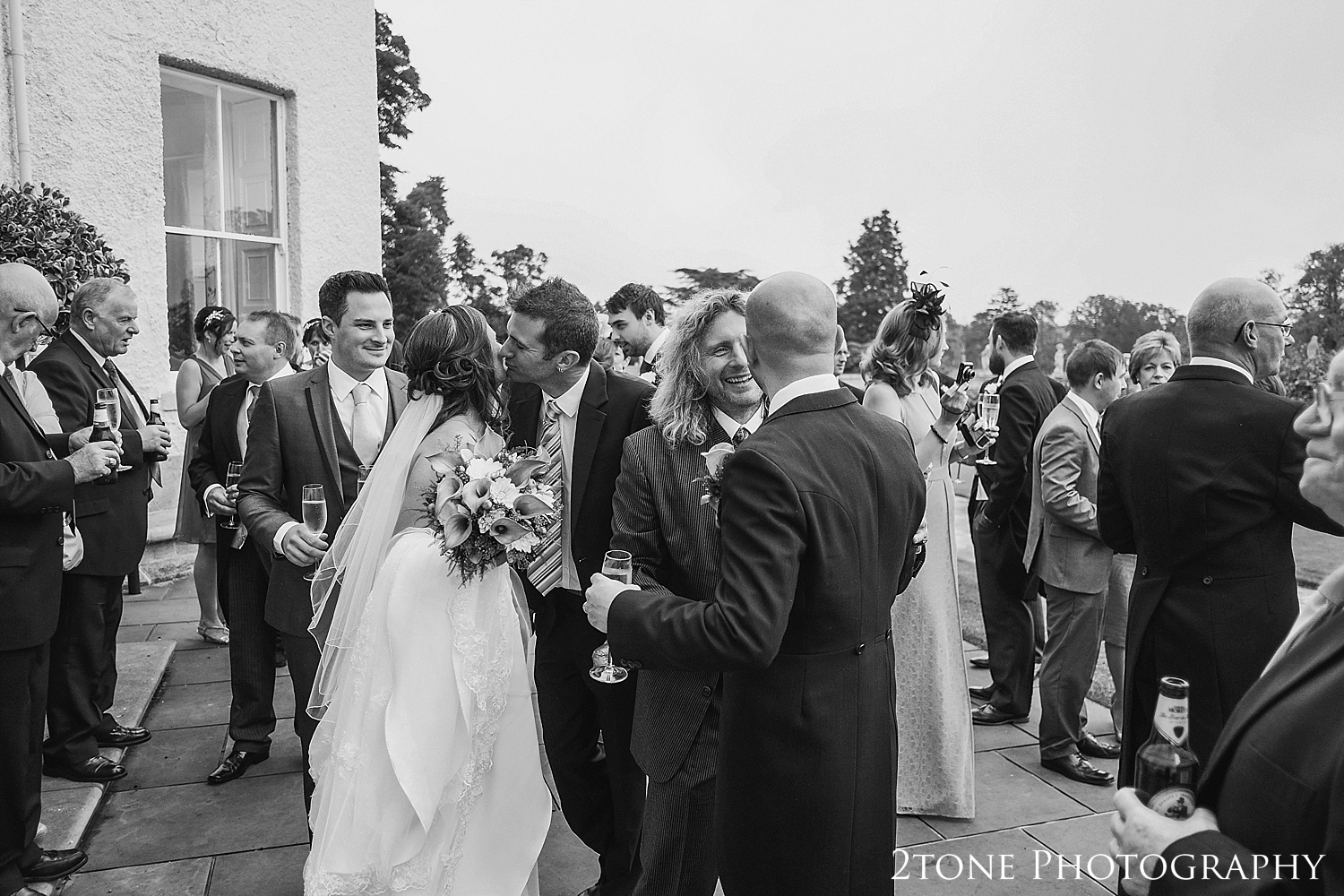 Lartington Hall Wedding photography by www.2tonephotography.co.uk