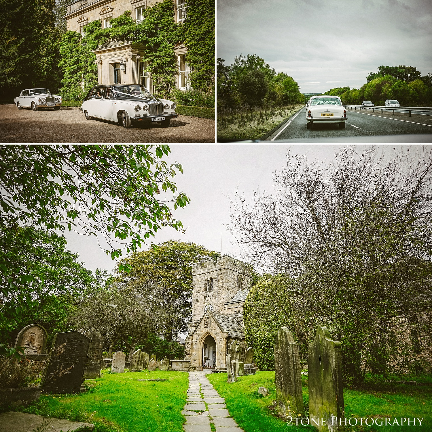 We all made our way a few miles south to the pretty church of St Mary the Virgin in Whickham for thier wedding ceremony
