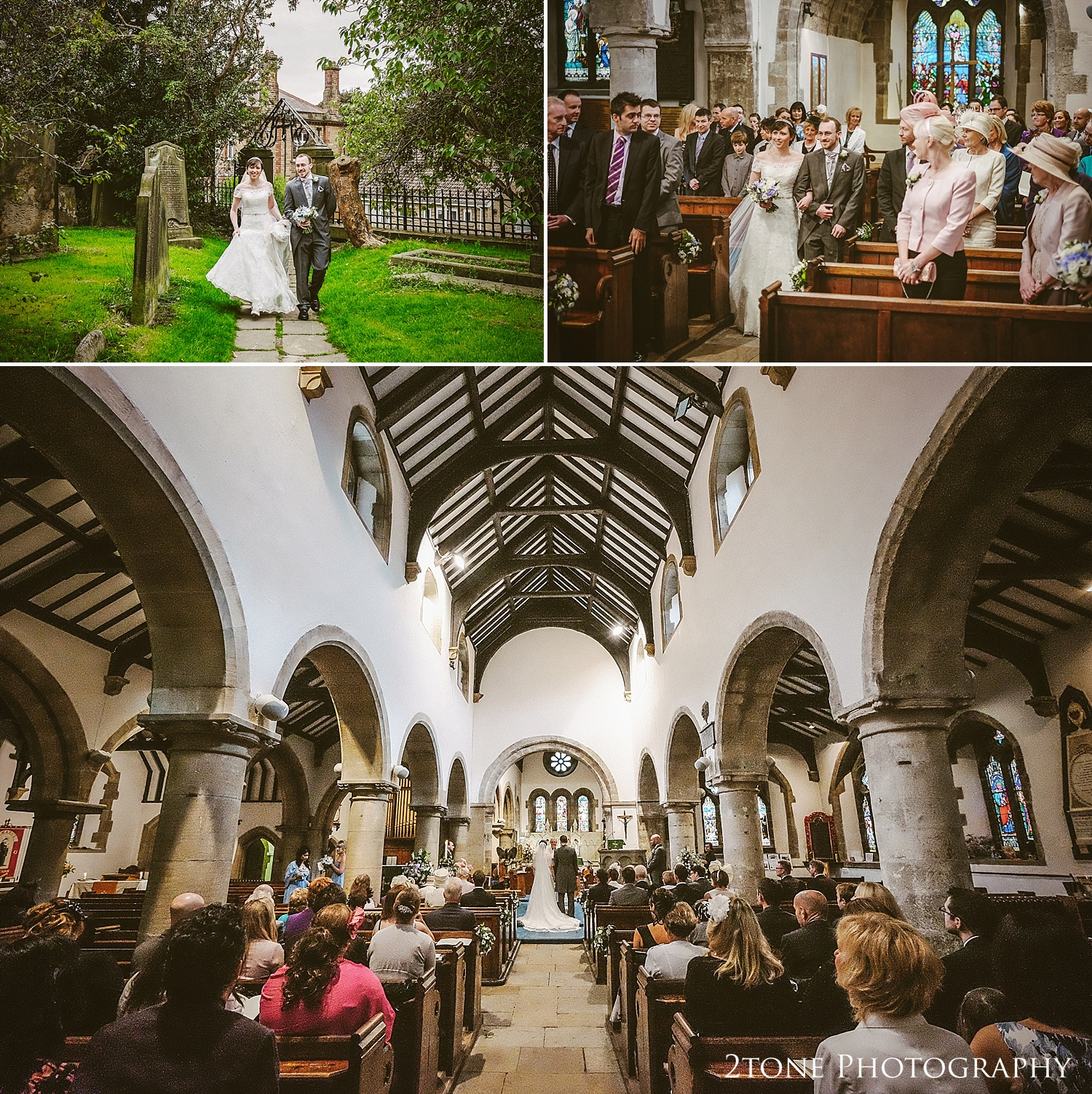 St Mary's Church and Eshott Hall wedding photography by www.2tonephotography.co.uk