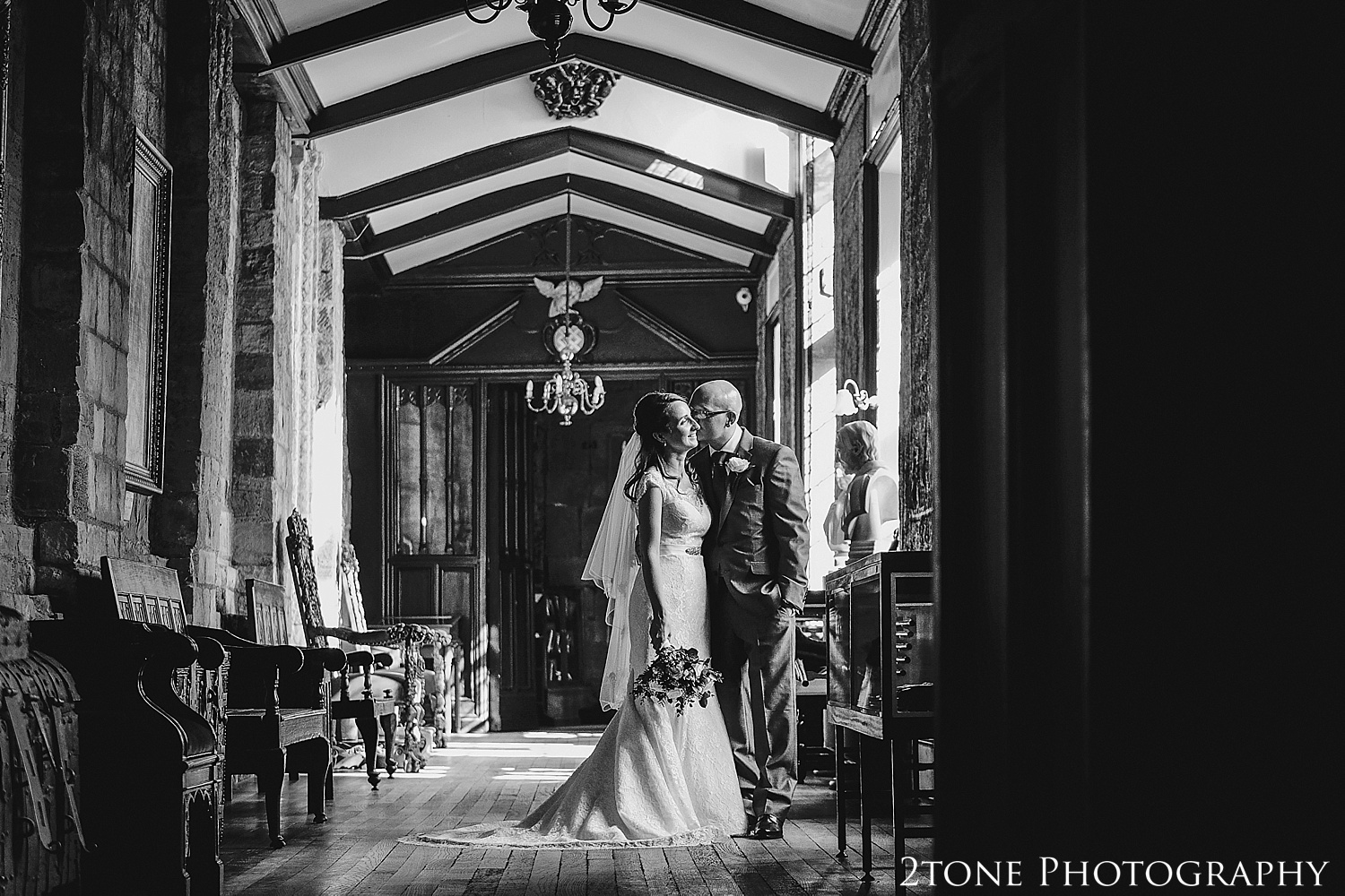 Tunstall gallery.  Durham Castle wedding Photography by Durham and Newcastle wedding photographer www.2tonephotography.co.uk