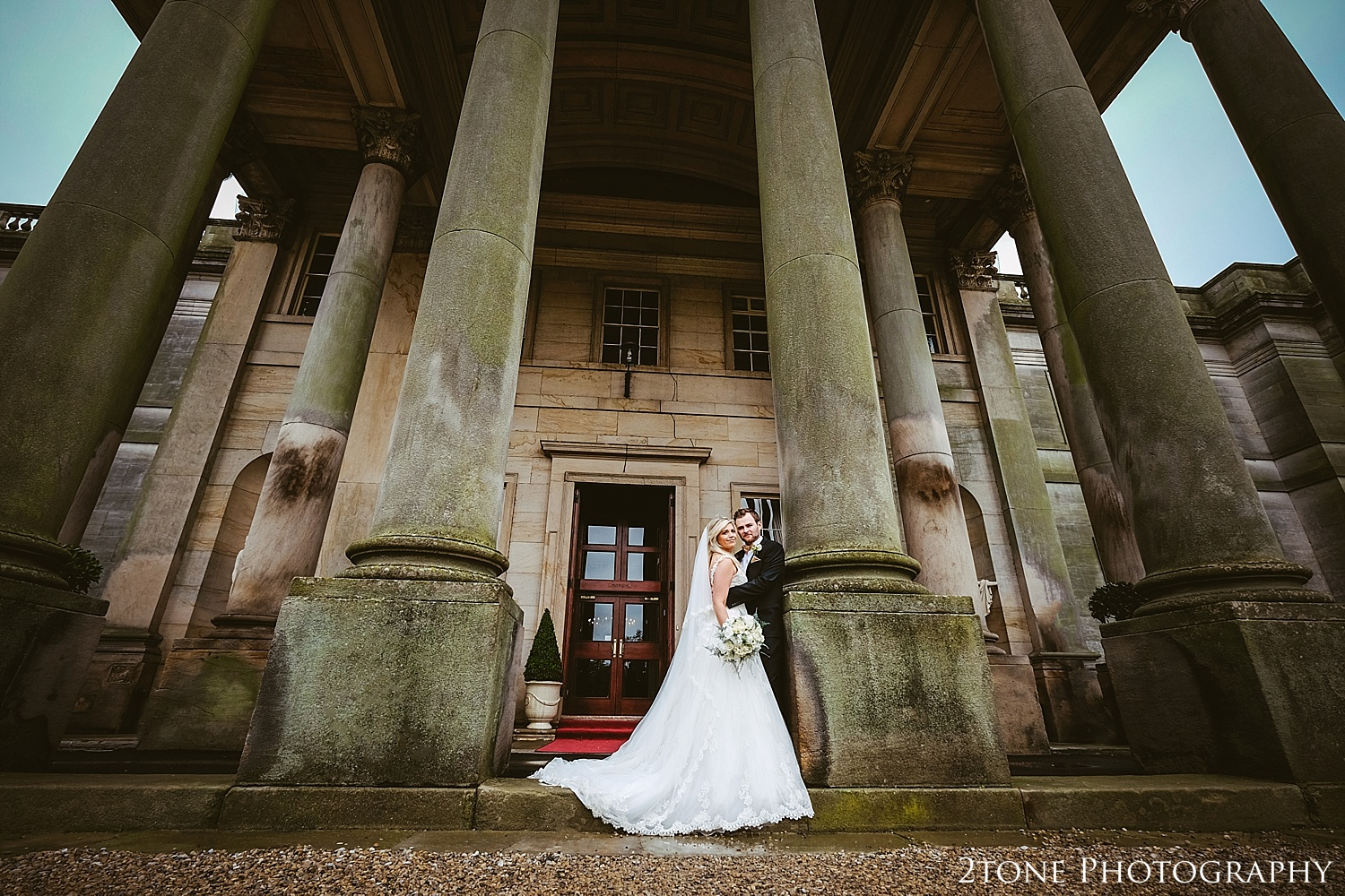 Creative Wedding Photographs at Wynyard Hall.  Wynyard Hall wedding photography by www.2tonephotography.co.uk