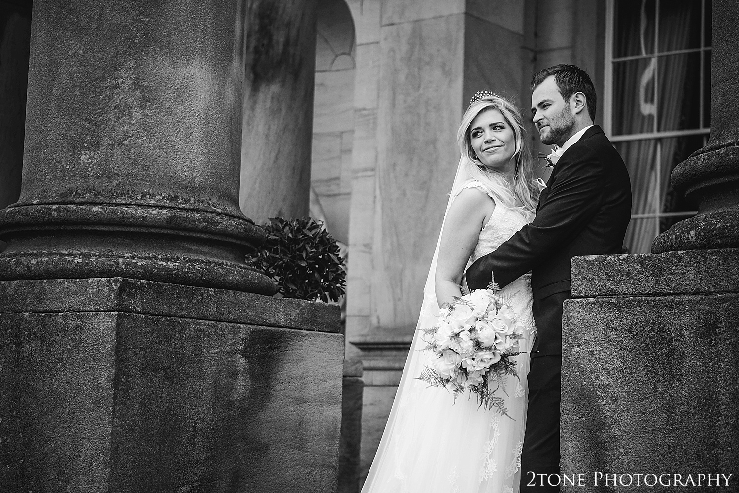 Weddings at Wynyard Hall.  Wynyard Hall wedding photography by www.2tonephotography.co.uk