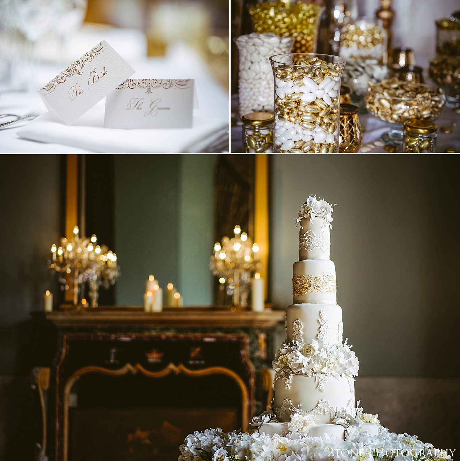 Amazing wedding cake at Wynyard Hall.  Wynyard Hall wedding photography by www.2tonephotography.co.uk