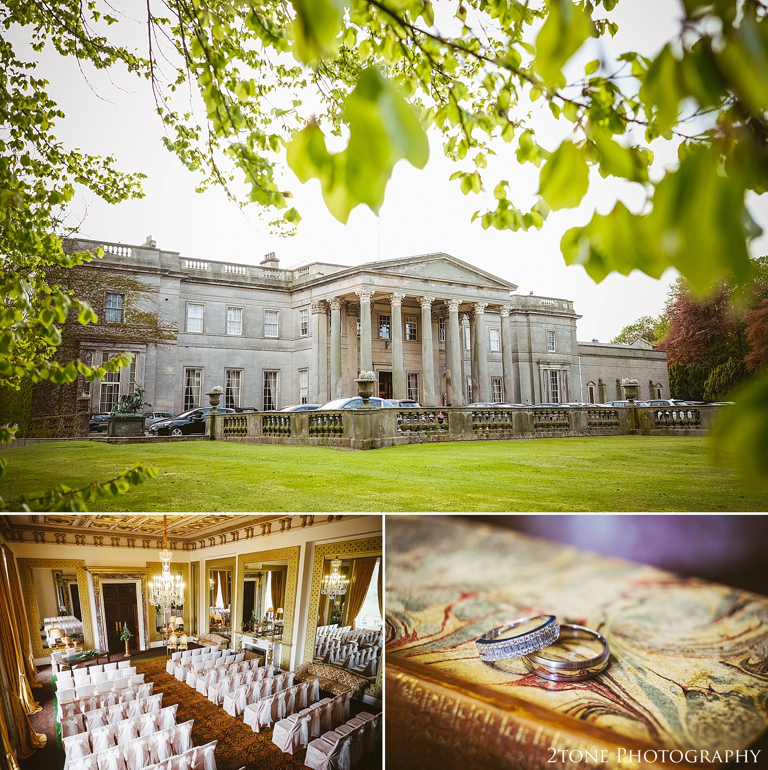 Wynyard Hall by Newcastle and Durham based Wedding Photographer www.2tonephotography.co.uk