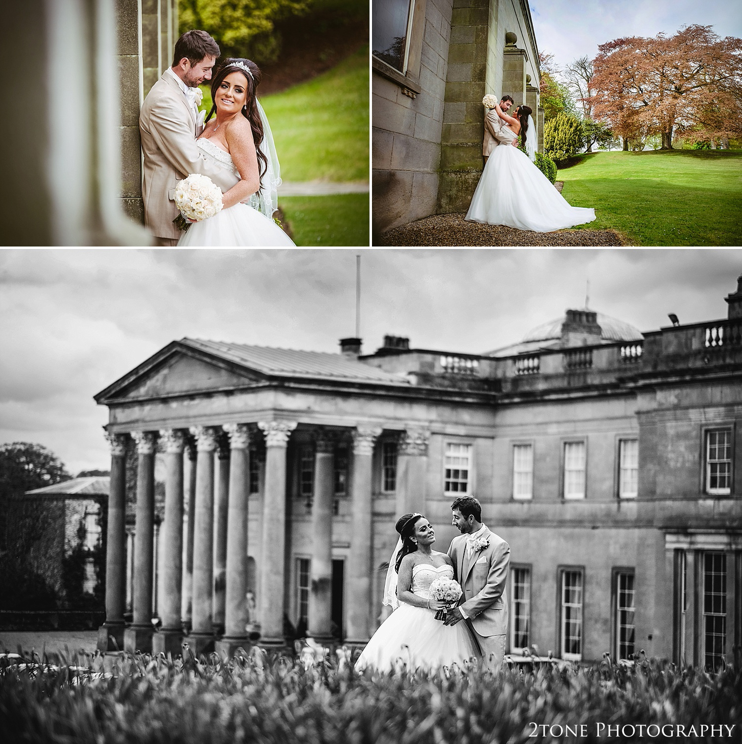 Stunning wedding photography at Wynyard Hall by Newcastle and Durham based Wedding Photographer www.2tonephotography.co.uk