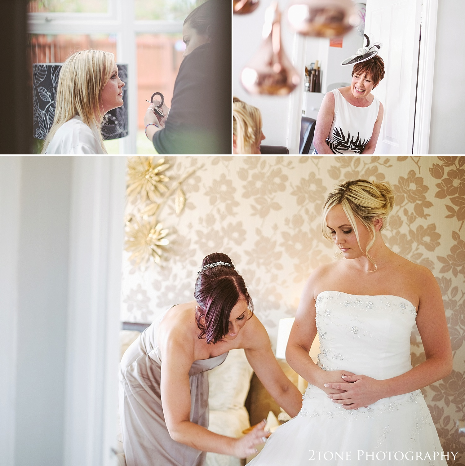 Bridal preparations by by www.2tonephotography.co.uk