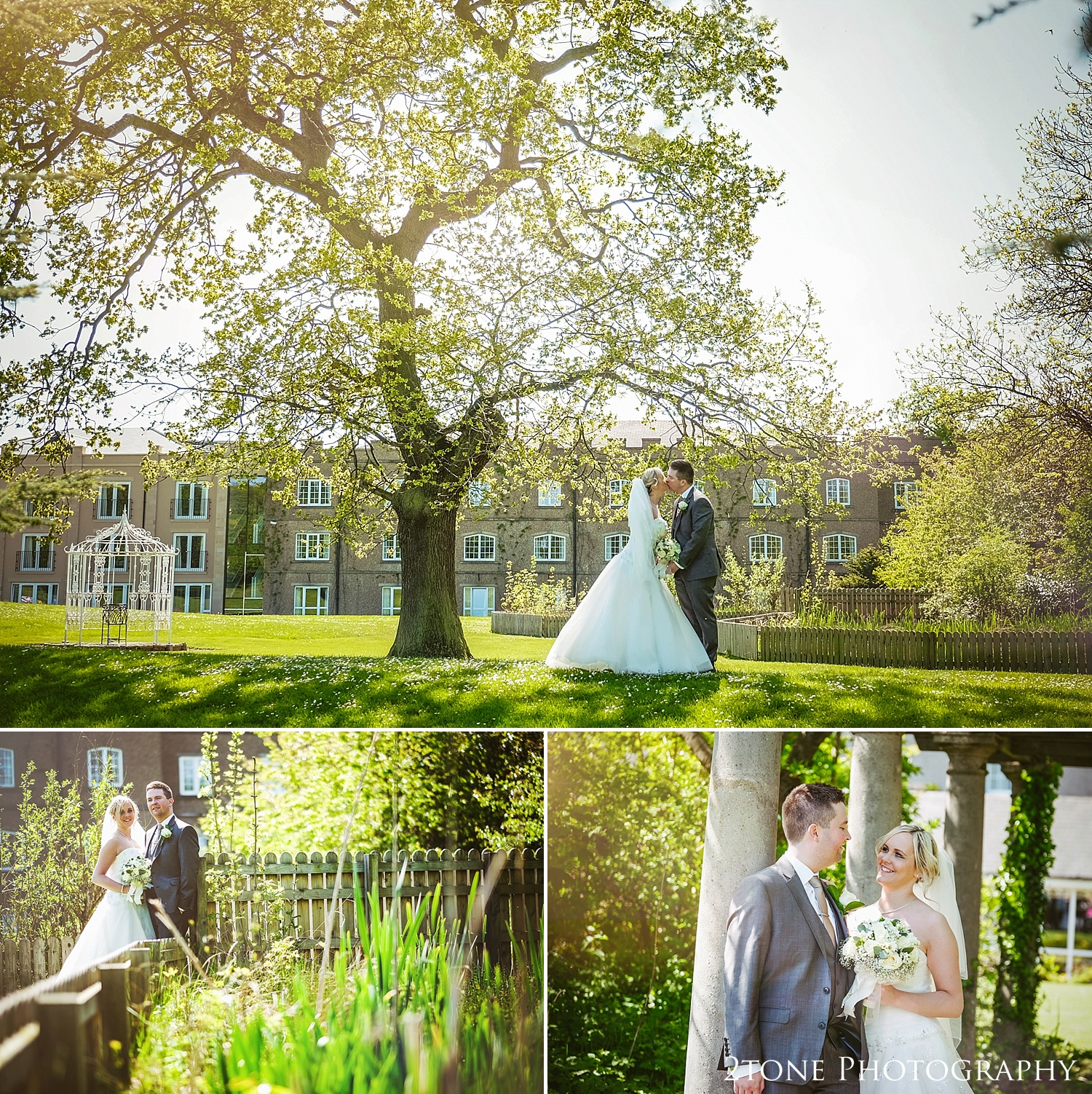 Summer weddings at the Ramside Hall in Durham.  Wedding photography by husband and wife team www.2tonephotography.co.uk