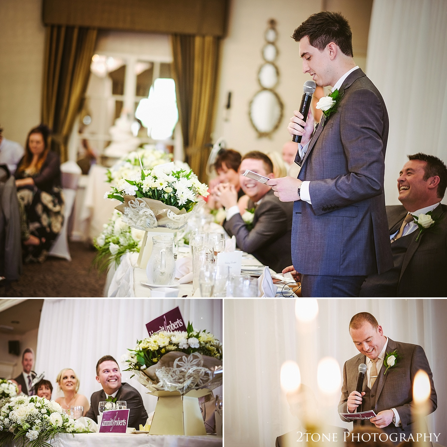 Weddings at the Ramside Hall in Durham.  Wedding photography by husband and wife team www.2tonephotography.co.uk