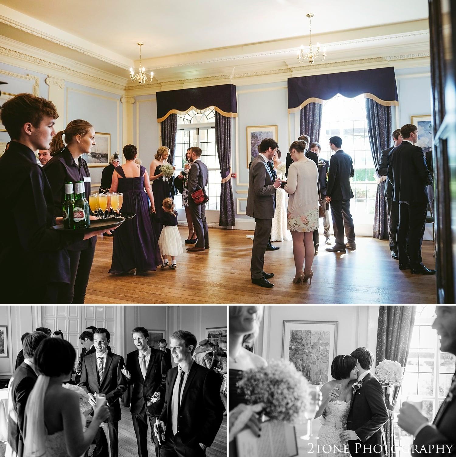 Wedding receptions at Kirkley Hall