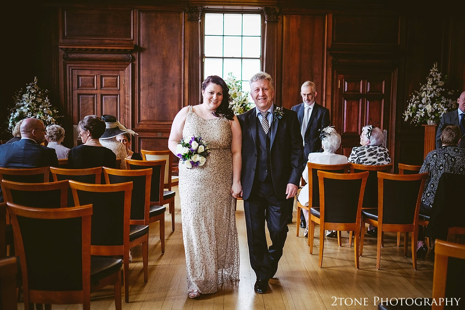 Wedding Ceremony.  Wedding Photography at the Lothian Chambers in Edinburgh by 2tone Photography