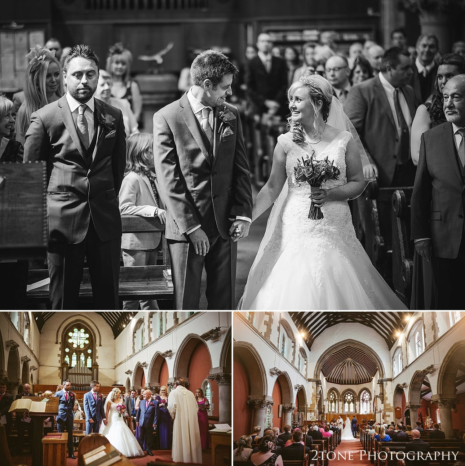 Wedding photography at The Parish Church of St John the Evangelist, Killingworth Village and Eshott Hall by www.2tonephotogaphy.co.uk