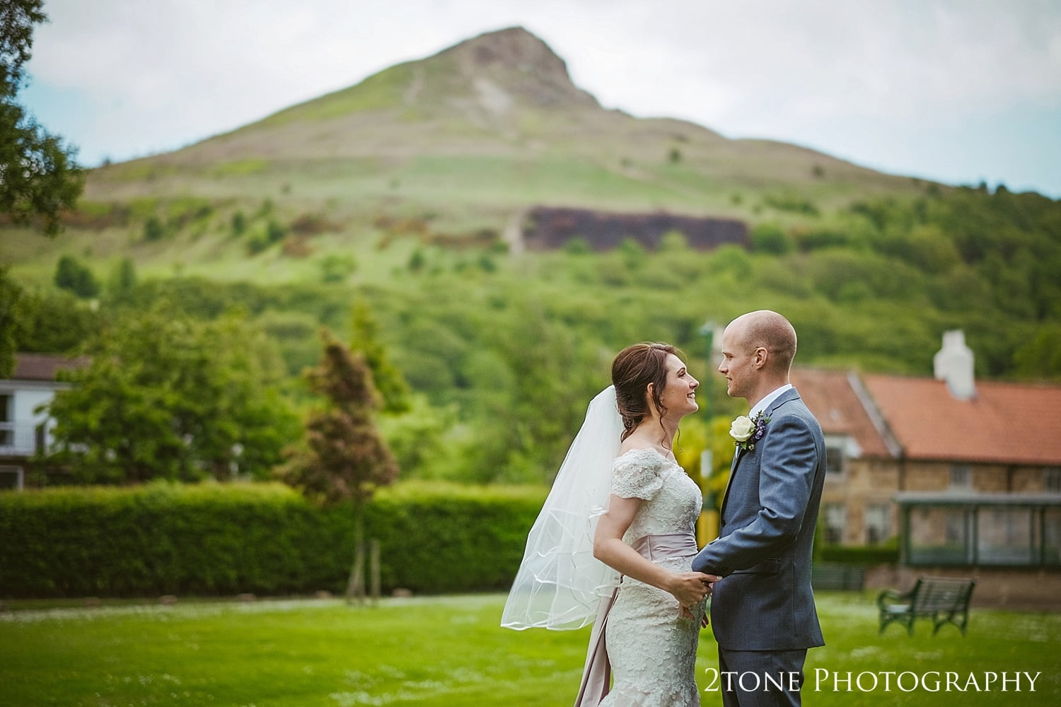 Wedding Photography at Roseberry Topping.  St Oswin's Church in Newton Under Roseberry by 2tone photography www.2tonephotograpy.co.uk