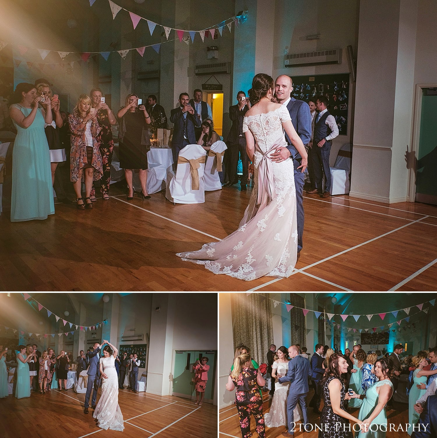 Wedding first dance at Ingleby Greenhow Village Hall by 2tone Photography www.2tonephotograhy.co.uk