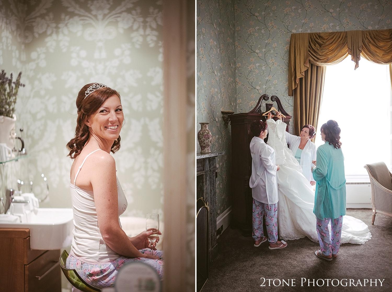 Bridal preparations.  Wedding Photography at Wynyard Hall by 2tone Photography www.2tonephotography.co.uk