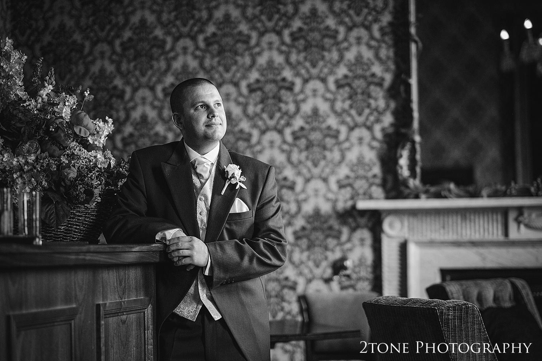 The groom.  Wedding Photography at Wynyard Hall by 2tone Photography www.2tonephotography.co.uk