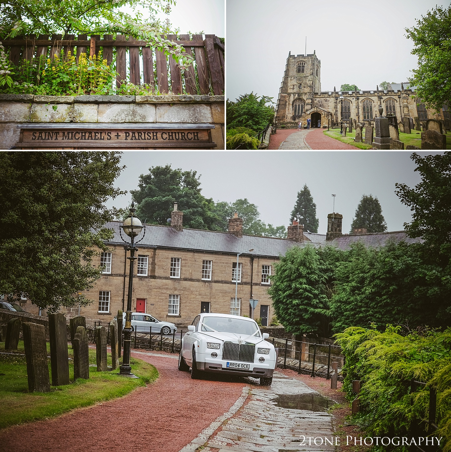 St Michaels church wedding by Newcastle and Durham based wedding photographers www.2tonephotography.co.uk