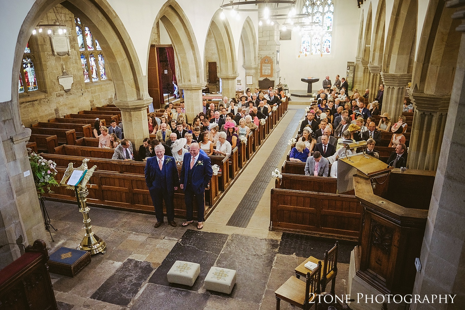 Beautiful church wedding photography by Newcastle and Durham based wedding photographers www.2tonephotography.co.uk