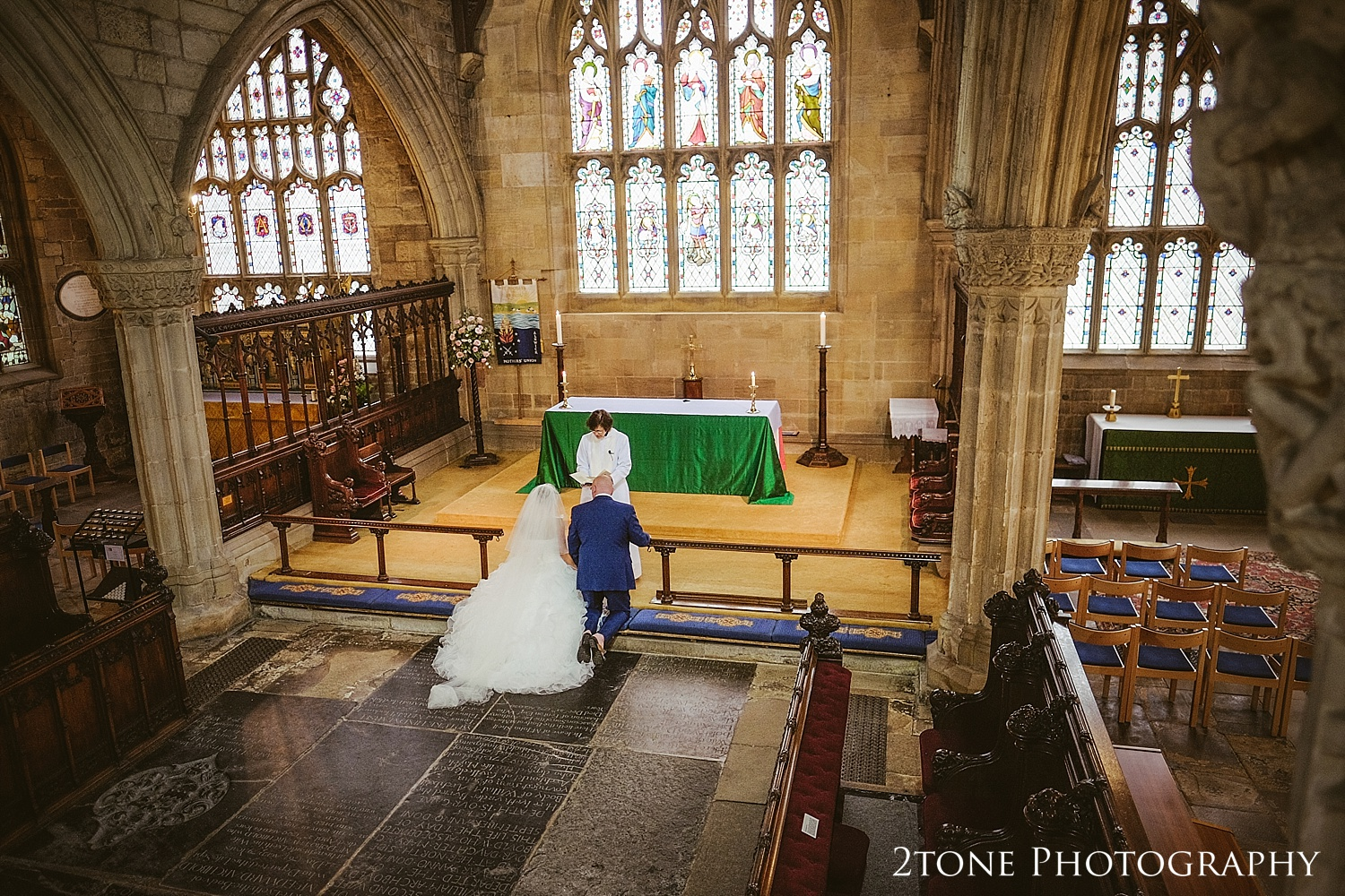 church weddings by Newcastle and Durham based wedding photographers www.2tonephotography.co.uk