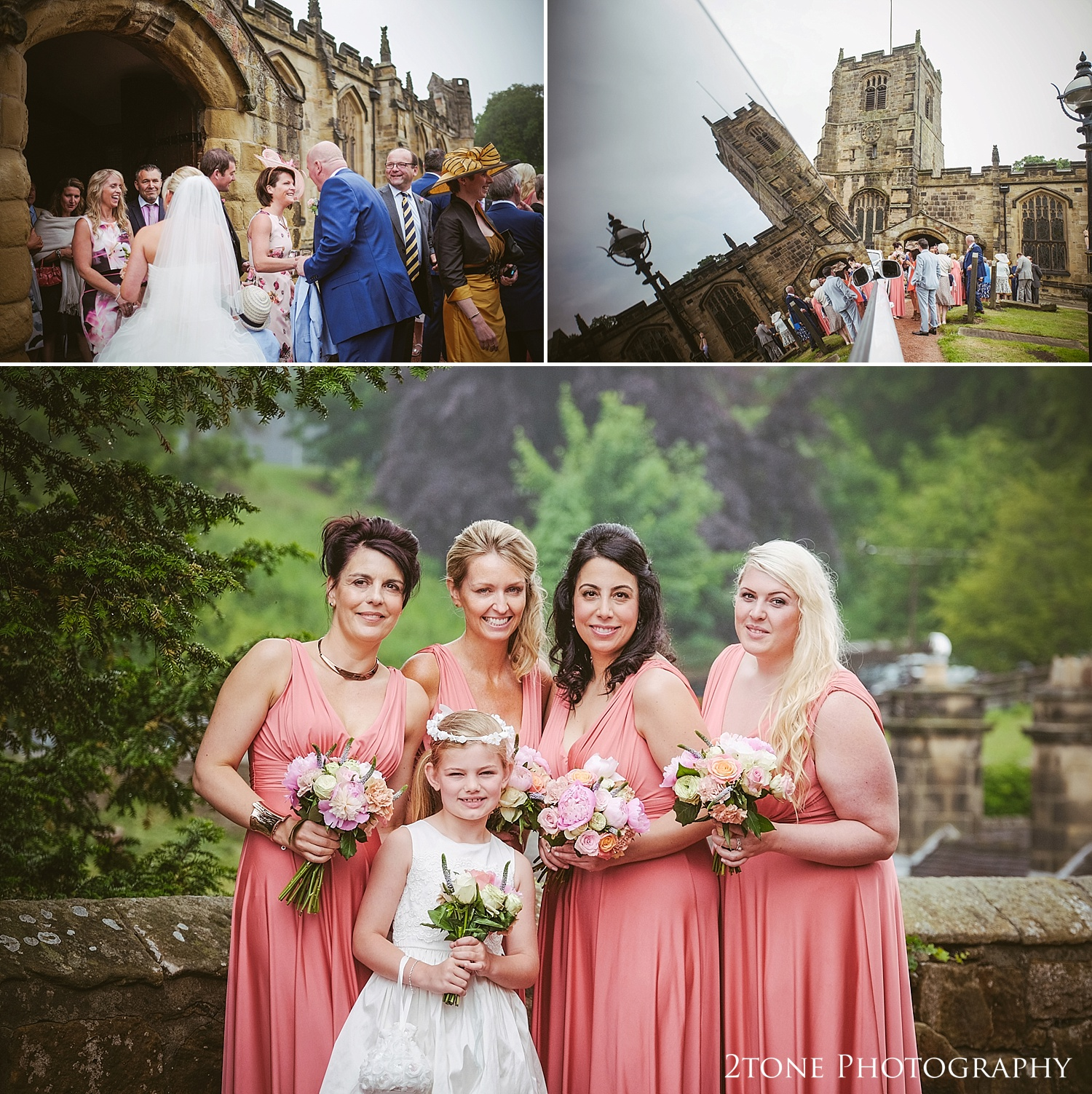 Weddings in church by Newcastle and Durham based wedding photographers www.2tonephotography.co.uk