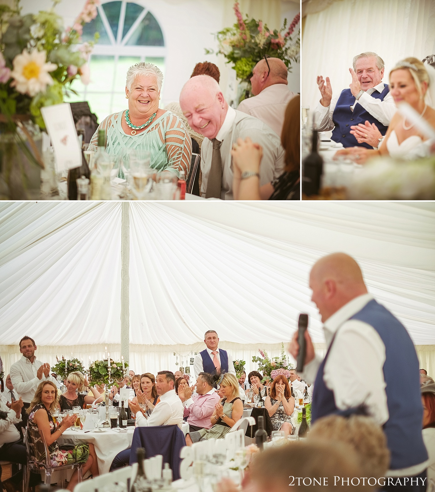 Speech wedding photography by Newcastle and Durham based wedding photographers www.2tonephotography.co.uk