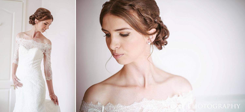 Bridal portraiture by Durham based wedding photographers www.2tonephotography.co.uk